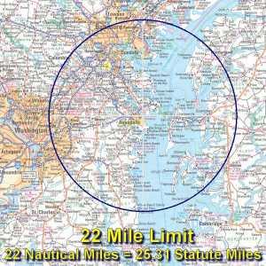 22-mile limit for Plebes