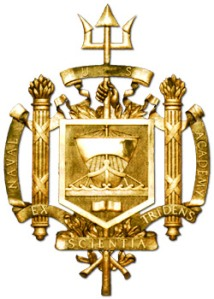 Logo of the Naval Academy