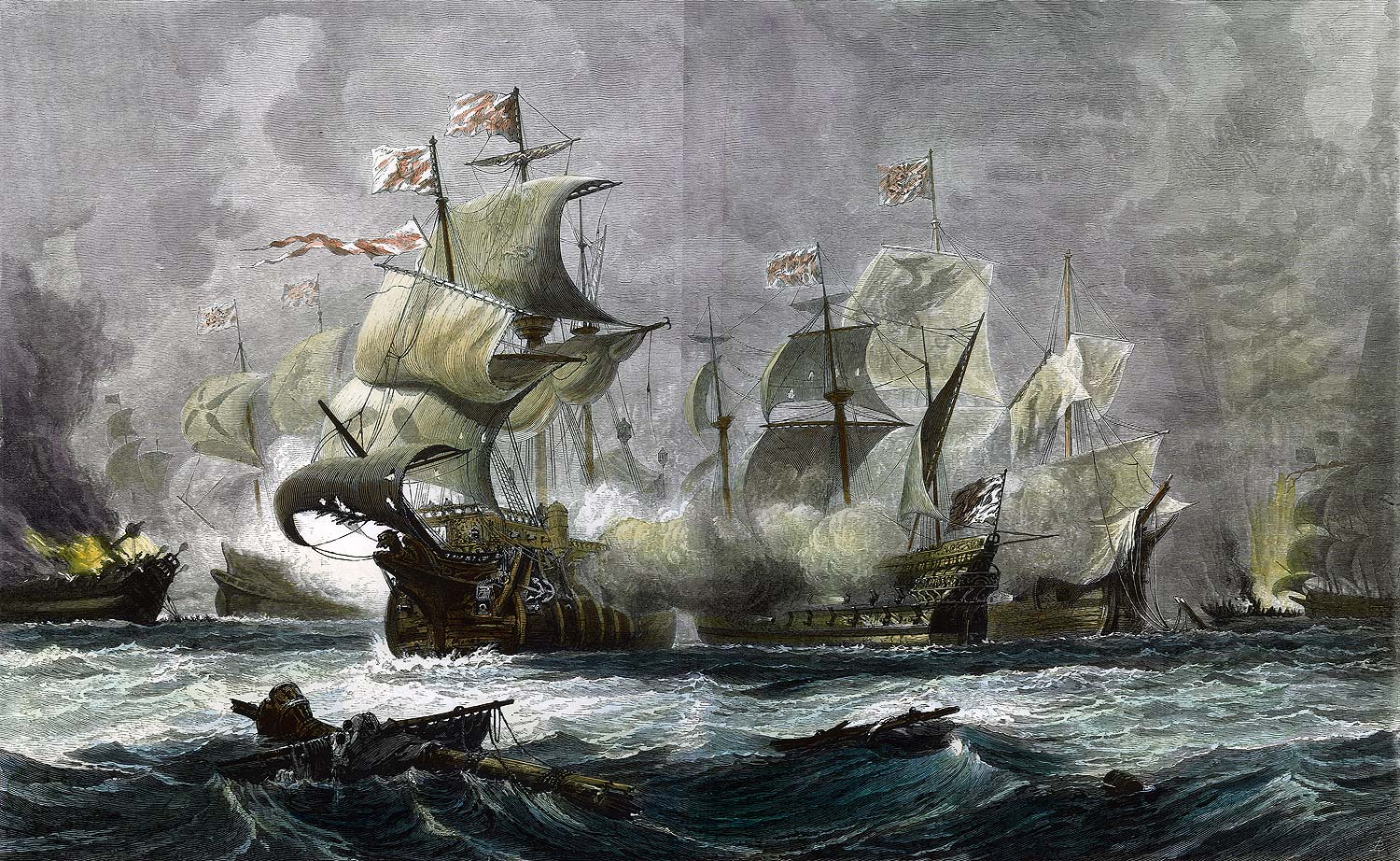 the battle of the spanish armada The outcome of the battle made spain less powerful then before the defeat of the spanish armada saved england form invasion, and the dutch republic form extinction (the encyclopedia britannica).
